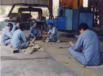 Photo of Indian workers